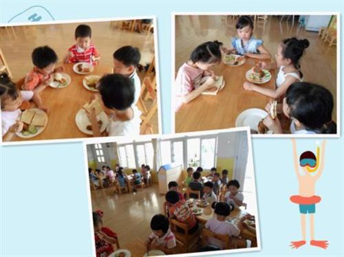 幼儿园吃饭礼仪图片大全