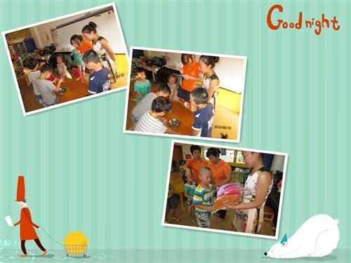 通过这次中秋佳节让幼儿知道中秋节是我国的传统的